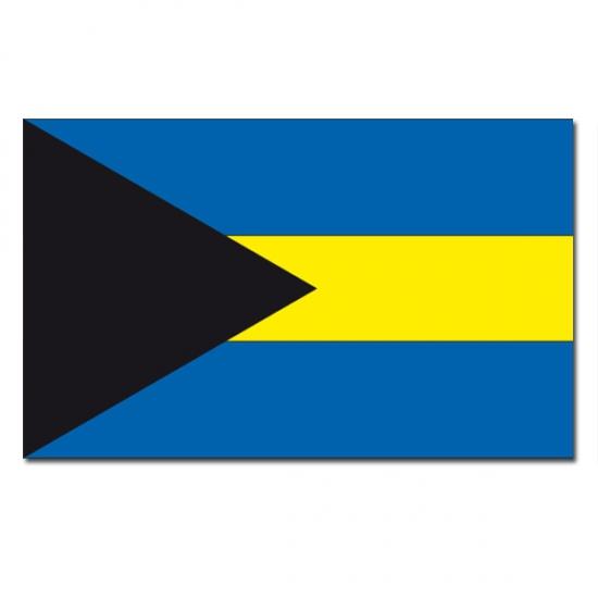 Landen vlag Bahamas