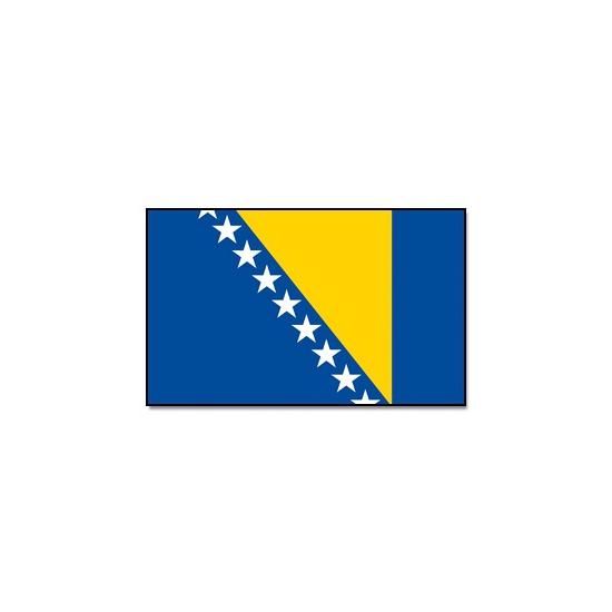 Landen vlag Bosnie en Herzegovina