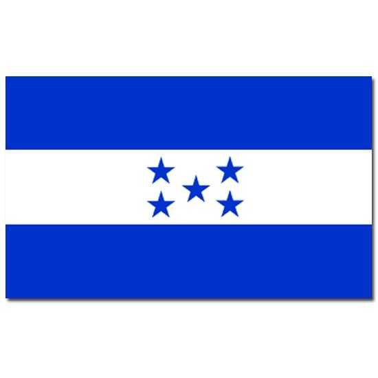 Landen vlag Honduras