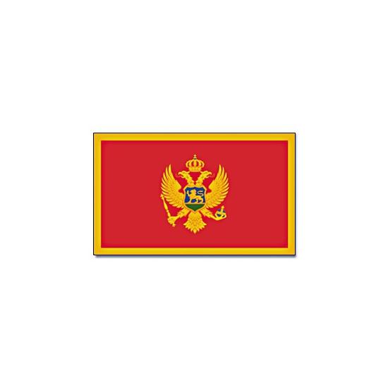 Landen vlag Montenegro 90 x 150 cm