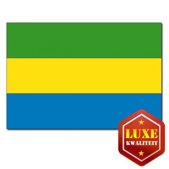Vlaggen van Gabon 100x150 cm