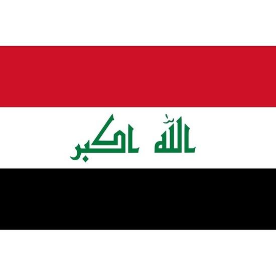 Vlaggen van Irak 100x150 cm