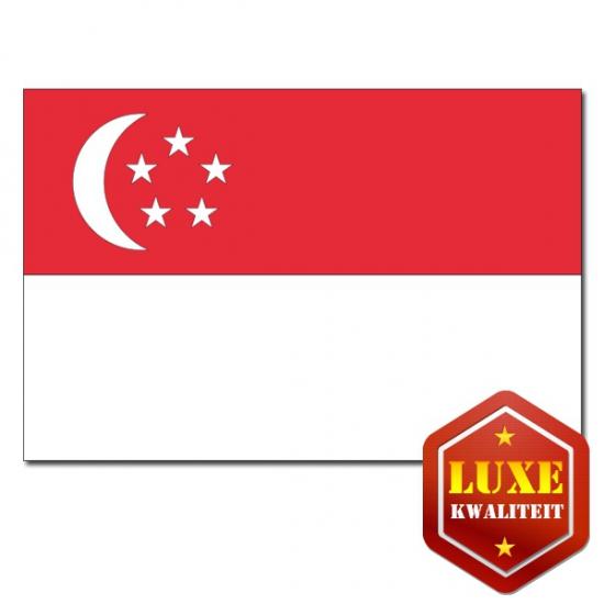 Vlaggen van Singapore 100x150 cm