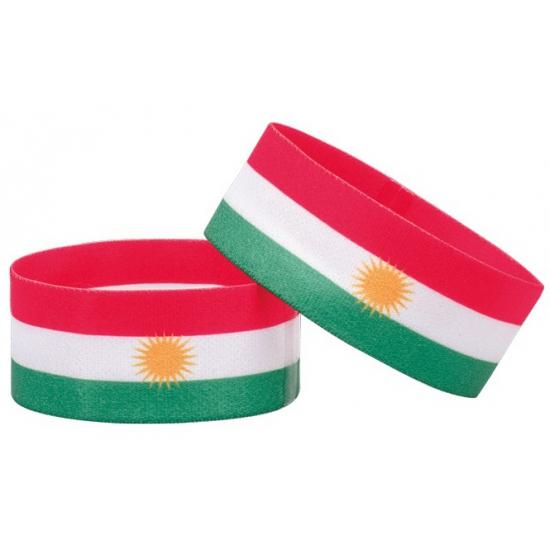 Voetbal armband Koerdistan