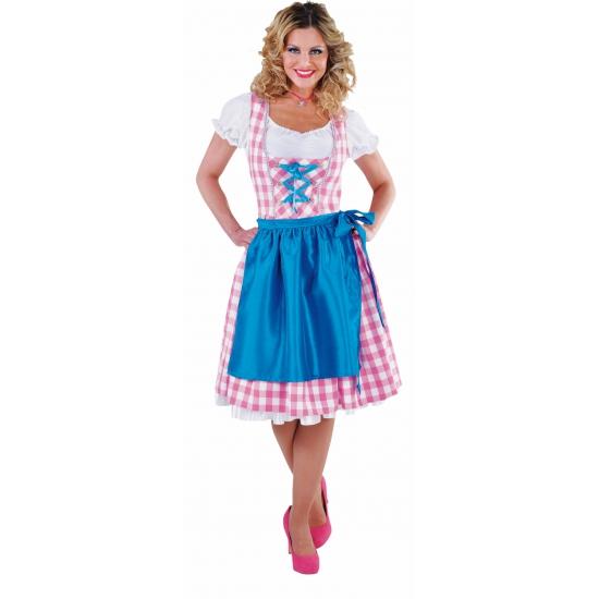 Oktoberfest jurkje roze voor dames
