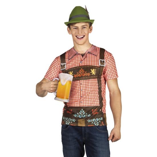 Tiroler anton oktoberfest herenshirt